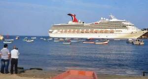 Crucero arribo a Santa Marta con 2.700 turistas y 1.000 tripulantes