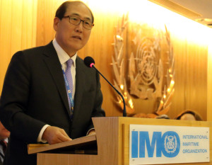 Señor Kitack Lim. Foto tomada de IMO web.