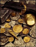 Monedas encontradas en el Whydah