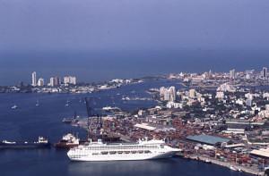 Este mes de enero arribaron 25.000 turistas que desembarcaron de once barcos.