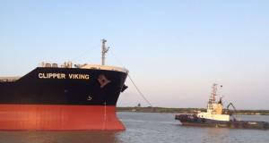 Clipper Viking riverport