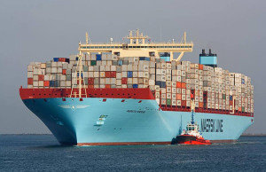 Maersk,contenedores,TEU,GRI,fletes marítimos, fletes, Noticias Marítimas Colombia
