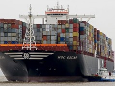 mega buques, contenedores, economía de escala, porta contenedores,liner, Noticias Maritimas Colombia, Drewery