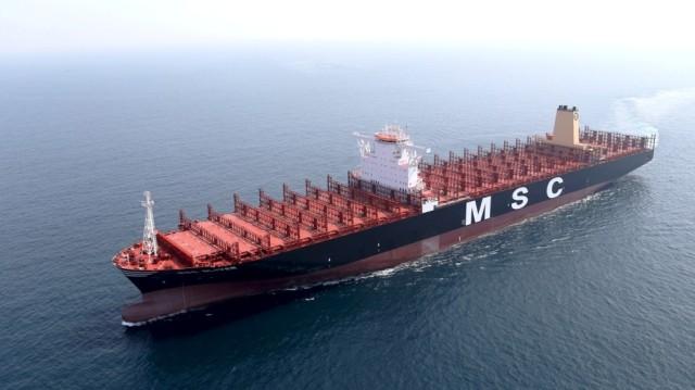 MSC Oliver, MSC Maya, MSC, Sin utilizar, Korea, Busan, varados, sobre capacidad Contenedores, liner, Noticias Marítimas Colombia, CMA CGM, Nabucco, Sofia Express, Hapag Lloyd