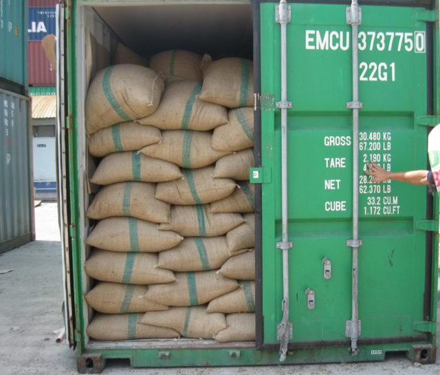 café, exportaciones, broca, el niño, contenedores, lcl, fcl, Federación Nacional de cafeteros, Noticias marítimas Colombia