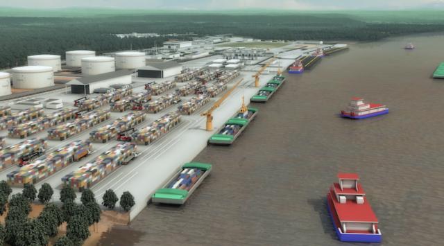 Puerto IMPALA Barrancabermeja, noticias maritimas colombia