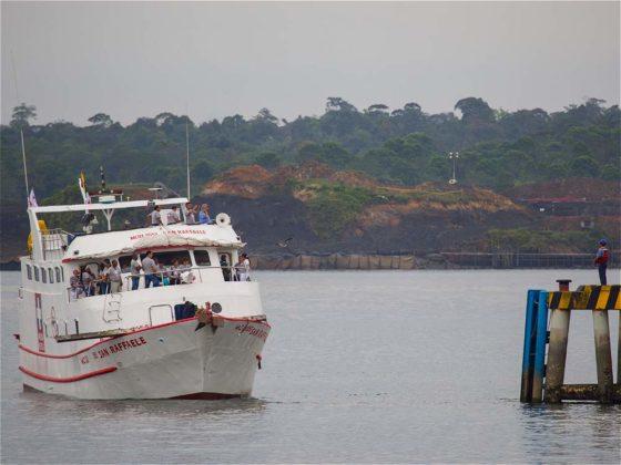 Barco San Raffaele, noticias marítimas Colombia