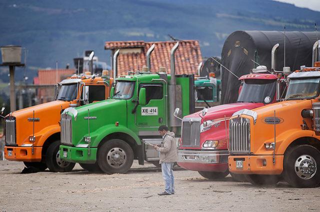 Paro camionero, noticias marítimas colombia