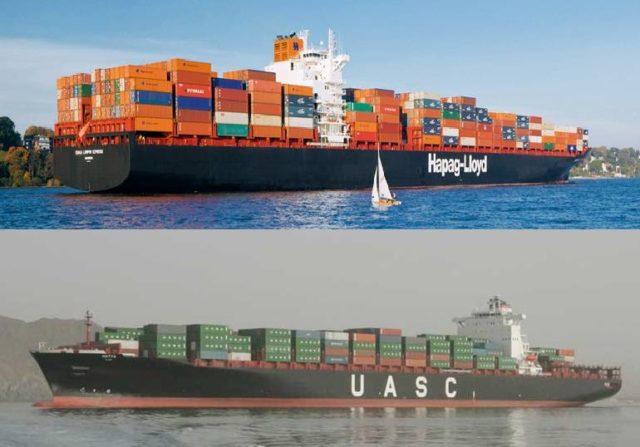 UASC, Hapag Lloyd, fusión, consolidación liner, contenedores, buques ultra grandes, La Alinaza, portacontenedores, acuerdo, Noticias marítimas Colombia
