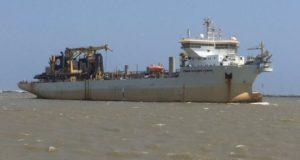 Draga Pedro Alvares Cabral, noticias marítimas Colombia