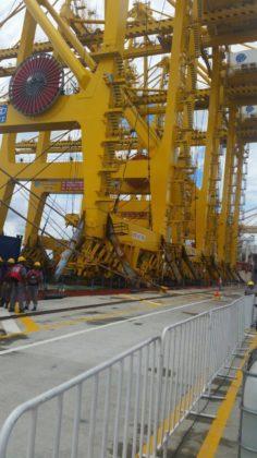 Grúas post panamax SPB, Noticias marítimas colombia