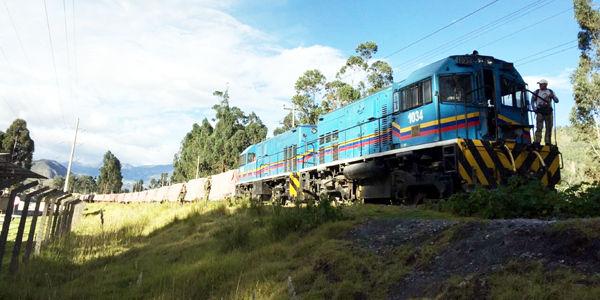 Tren de carga, noticias marítimas colombia