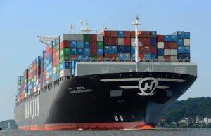 fletes, contenedores, indice mundial de contenedores, drewry, incremento, caida hanjin, hanjin shipping, Noticias Marítimas Colombia