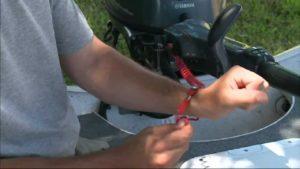 Cable y apagado de emergencia para motores F/B.