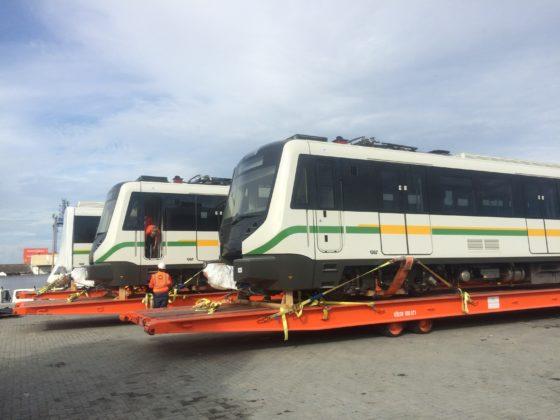 Vagones Metro de Medellín