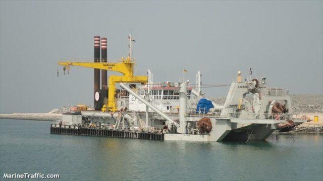 dragado, rio uruguay, Uruguay, Kaerius, Rolldock Star, CARU, Información marítima y portuaría