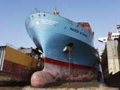 Maersk, shree ram, China, India, Chatarrizar, Reciclar, medio ambiente, desguace, Panamax, Información Marítima y portuaria, AP Moller Maersk,
