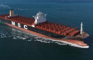 MSC, Ship finance international limited, MSC Anna, HHI, Hyundai Heavy Industries, Korea, Bermuda, new building, construcción, sobrecapacidad, información marítima y portuaria