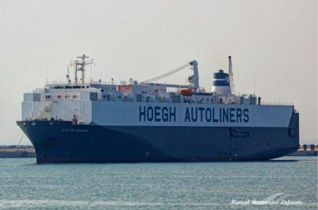 Höegh Autoliners, Hoegh, Noruega, Hoegh mumbai, PCTC, Roro, oferta, desguese, mitsui, información marítima y portuaria