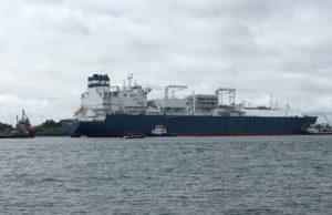 Hoegh Grace, Hoegh LNG, LNG, GNL, SPEC, Cartagena, FSRU, Sociedad portuaria el Cayao, Noruega, regasificación, información marítima y portuaria