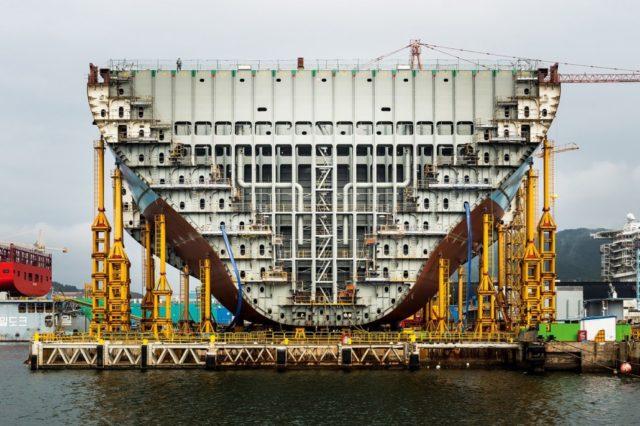 construcción, contenedores, chatarrizar, chatarrizar buques, sobrecapacidad, oferta, demanda, entregas, Maersk, astilleros, Alphaliner, Drewry, Alianzas, información marítima y portuaria