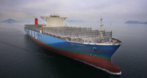 MOL Triumph, contenedores, liner, servicios, buques, Samsung HEavy industries, Korea, Japón, sobreoferta, sobrecapacidad, información marítima y portuaria