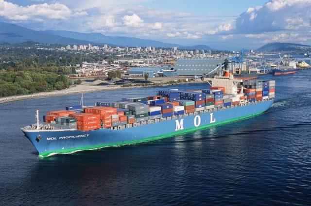 MOL, Mitsui Osk, Japón, Perdidas, ajuste, One MOL, 3J, contenedores, buques, reportes financieros, información marítima y portuaria