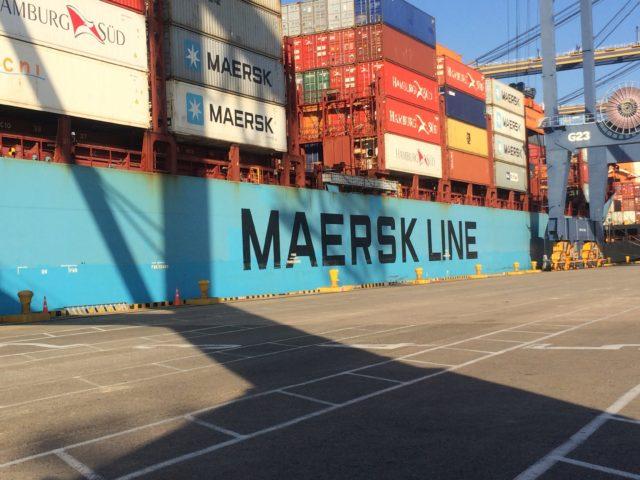 Maersk, Maersk line, Sur América, Brasil, contenedores, buques, Brasil, monopolio, Hamburg Sud, Información marítima y portuaria