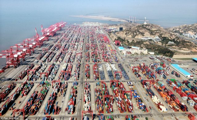 Shanghai, alianzas, La Alinaza, Alianza del Oceano, 2M, volumen, China incremento comercio, demora, congestión, puertos, información marítima y portuaria