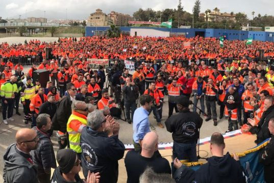 ANESCO, España, estibadores, reforma portuaria, huelga, paro, EU, Suspenden, Información marítima y portuaria