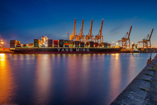 Yang Ming, Taiwan, contenedores, liner, estados de resultados, finanzas, reducción deficit, información marítima y portuaria