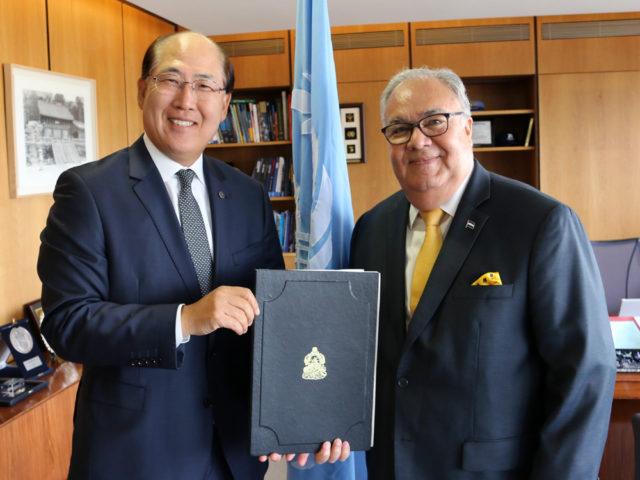 Honduras, OMI, IMO, agua de lastre, convenciones, ratificar, marítimo, portuario, buques, información marítima y portuaria