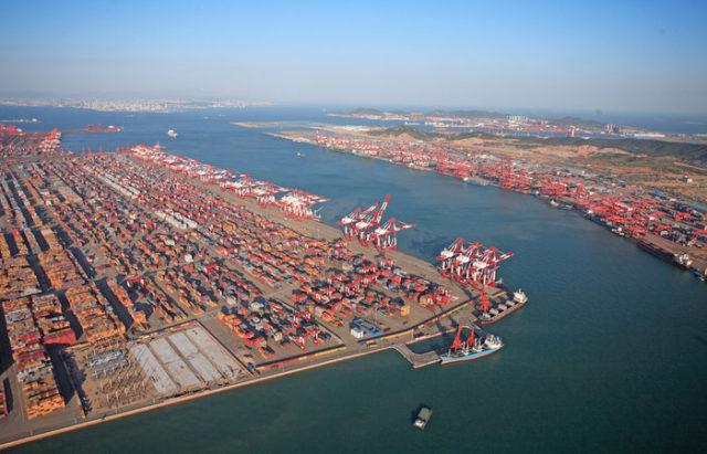 China, Cosco CL, COSCO, OOIL, OOCL, puertos, adquisiciones, expansión, control, Asia, Europa, América, EEUU, Australia, Beijing, Financial times, Información, Marítima, Portuaria, Información marítima y portuaria