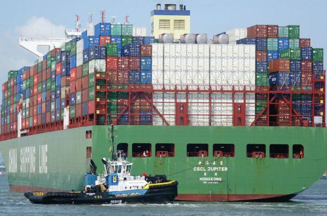 CSCL Jupiter, Cosco CL, China Shipping, buques, contenedores, liner, video, videos, Biggy, información marítima, información portuaria, información marítima y portuaria