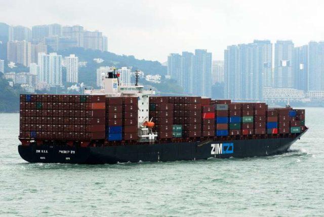 ZIM, Israel, contenedores, reporte, trimestre, mejora, buques, rendimiento, línea nicho, información marítima, información portuaria, información marítima y portuaria