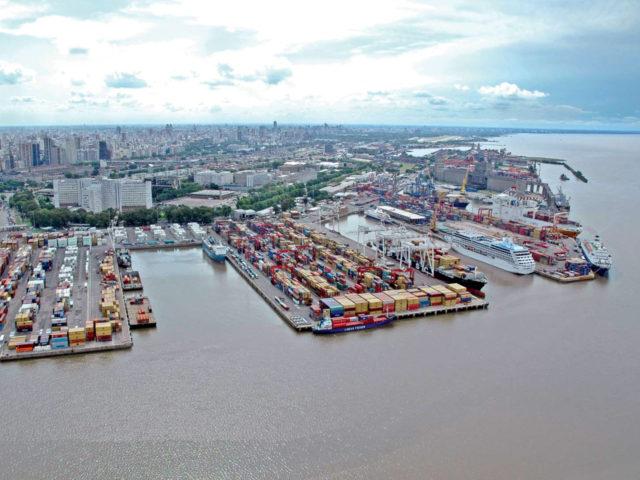 Argentina, puerto de Buenos Aires, tecnología, app, e-PuertoBUE, tracking, chat, reclamos, cadena logística, innovación, buques puertos, contenedores, latino américa, información marítima, información portuaria, información marítima y portuaria