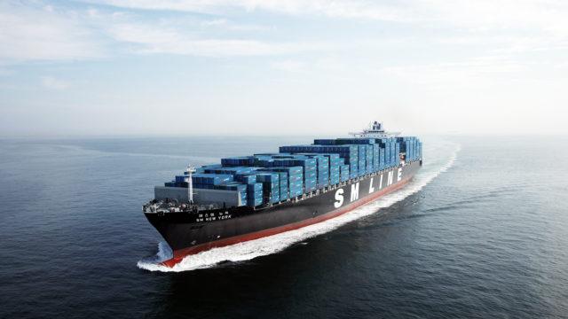 SM Line, Korea, contenedores, liner, buques, charteo, Grupo SM, Woobang Engineering and Construction, Korea Shipping Corporation, hanjin, información marítima, información portuaria, información marítima y portuaria