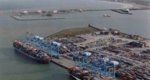 Terminal de APM en Zeebrugge