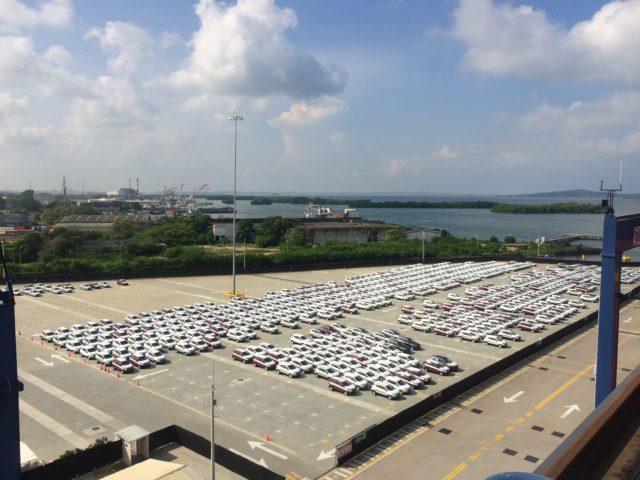 CONTECAR, SPRC, Cartagena, vehículos, PCC, Ro-Ro, remolcable, autopropulsado, automóviles, camiones, vans, maquinaria, RENAULT, Sofasa, MOL, K-Line, HOEGH, NYK, CSAV, información marítima, información portuaria,