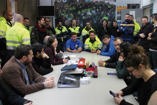 España, estibadores, trabajadores portuarios, sindicatos, coordinadora, acuerdo, reforma portuaria, información marítima, información porturia, información marítima y portuaria