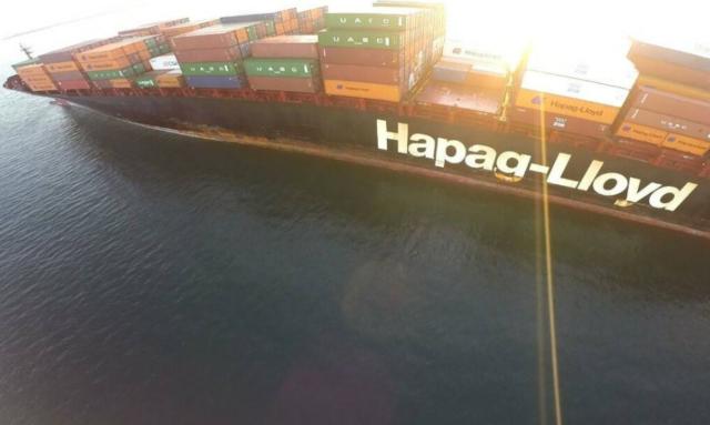Hapag Lloyd, Rotterdam Express, buque, contenedores, contaminación, cocaina, armada nacional, guardacostas, Colombia, Cartagena, contrabando, información marítima. información portuaria, información marítima y portuaria