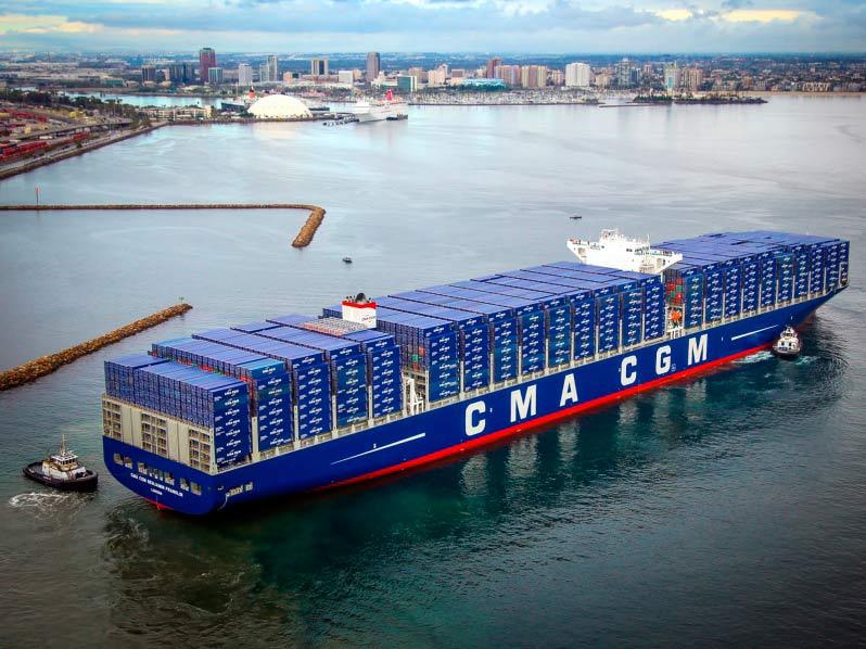 CMA CGM vende ocho de sus terminales portuarias