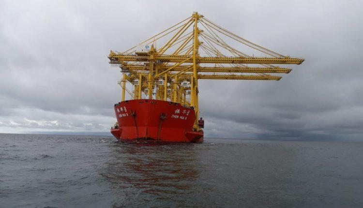 Nuevas grúas Sociedad Portuaria Buenaventura, Sociedad Portuaria Buenaventura new cranes