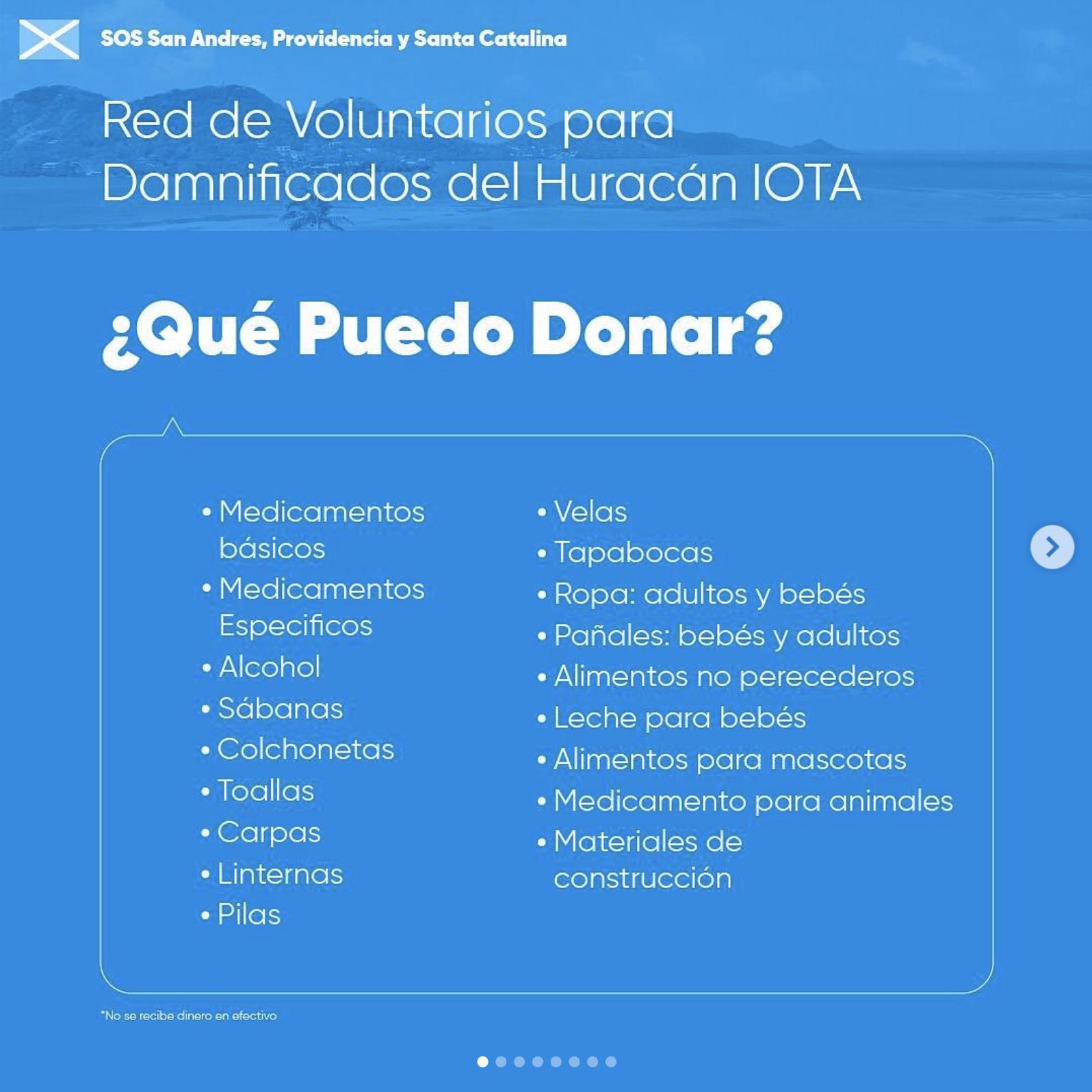SOS San Andrés, Providencia y Santa Catalina